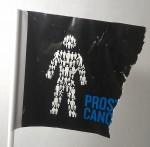 My slightly battered Prostate Cancer UK flag