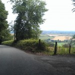 Glutton for punishment - Monday's ride gets bumpy in the first few miles!